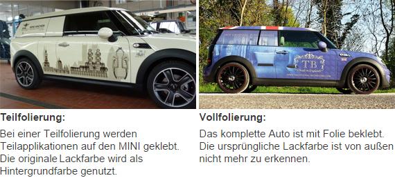 Fahrzeugbeschriftung-Teilfolierung-Vollfolierung